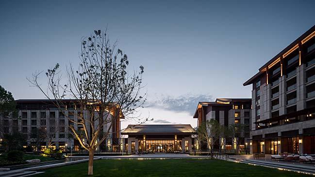 Hyatt Regency Beijing Shiyuan by CL3 Architects Limited