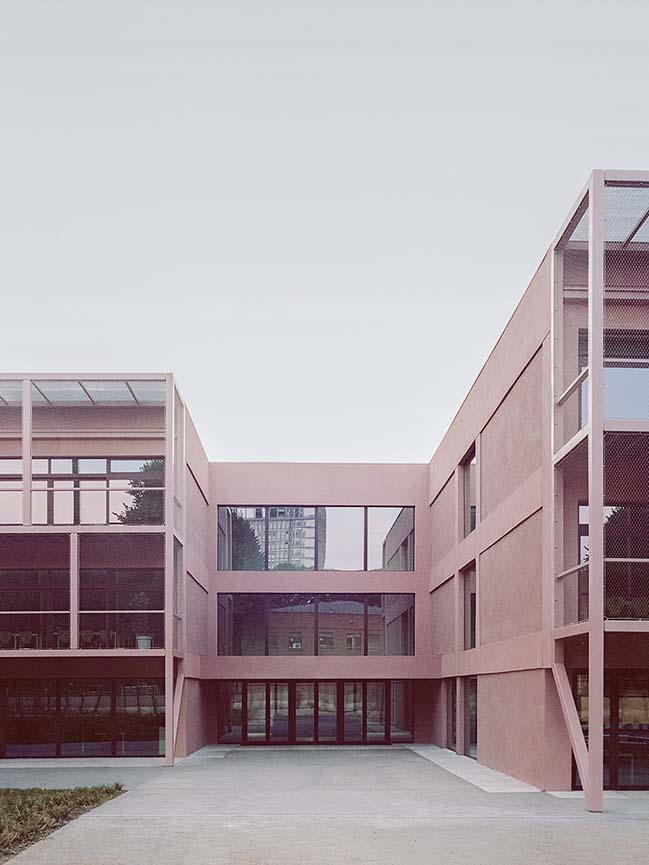 Fermi School in Turin: A community school open to the city by BDR bureau