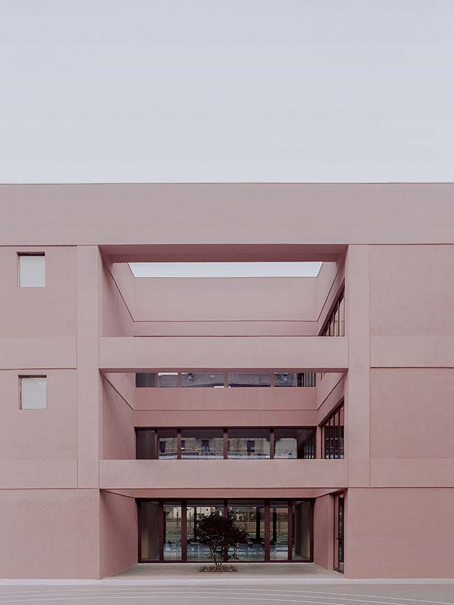 Fermi School in Turin: A community school open to the city by BDR bureau