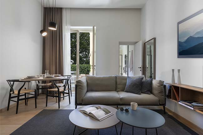 In Florence, the new apart hotel by Pierattelli Architetture