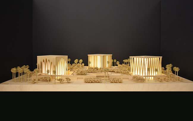 The Abrahamic Family House by Adjaye Associates