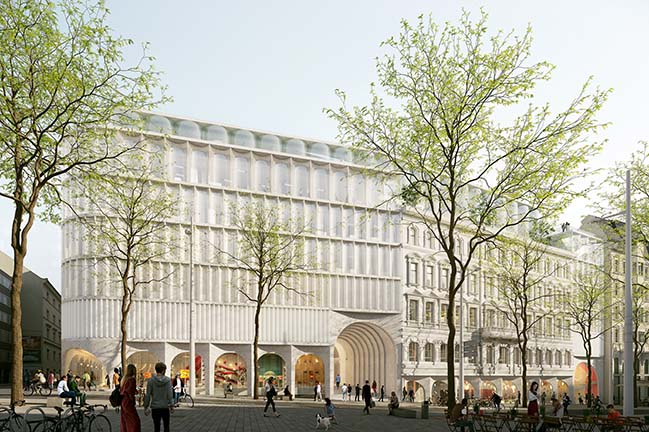 OMA wins competition for The New Kadewe Vienna Department Store