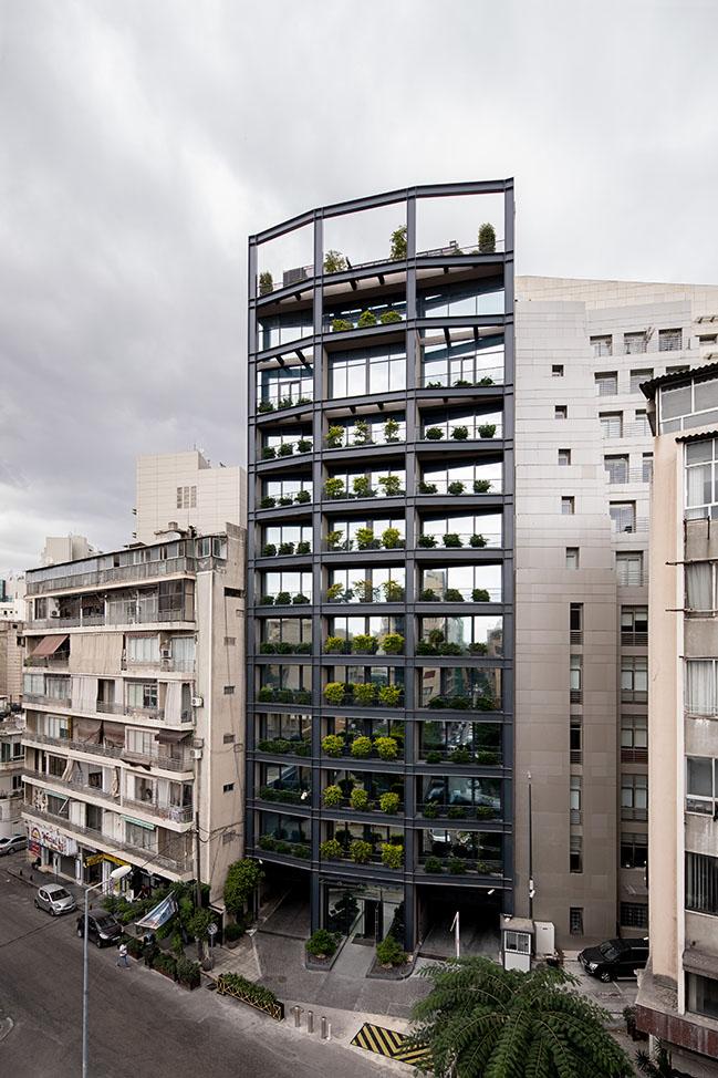 Banque du Liban CMA building by Karim Nader Studio