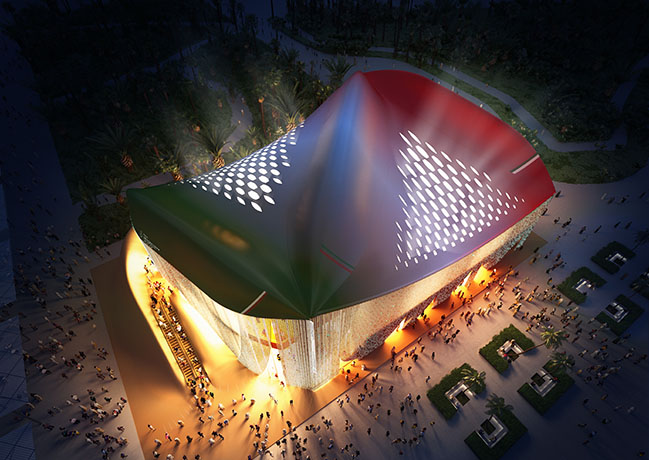 Carlo Ratti Associati unveiled final design for Italian Pavilion at Expo Dubai 2020