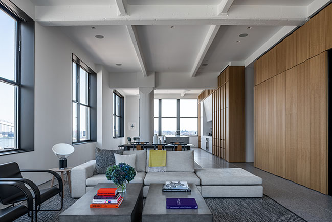Worrell Yeung Designs Four Corners Loft in DUMBO