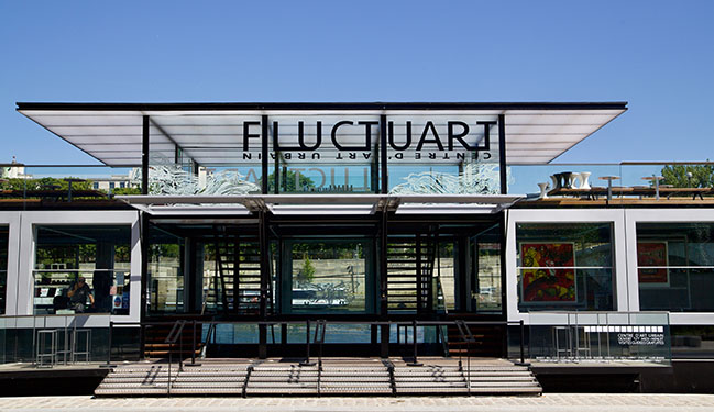 FLUCTUART Urban Art Center by Seine Design