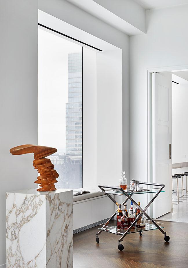 Park Avenue Penthouse by Nebihe Cihan Studio