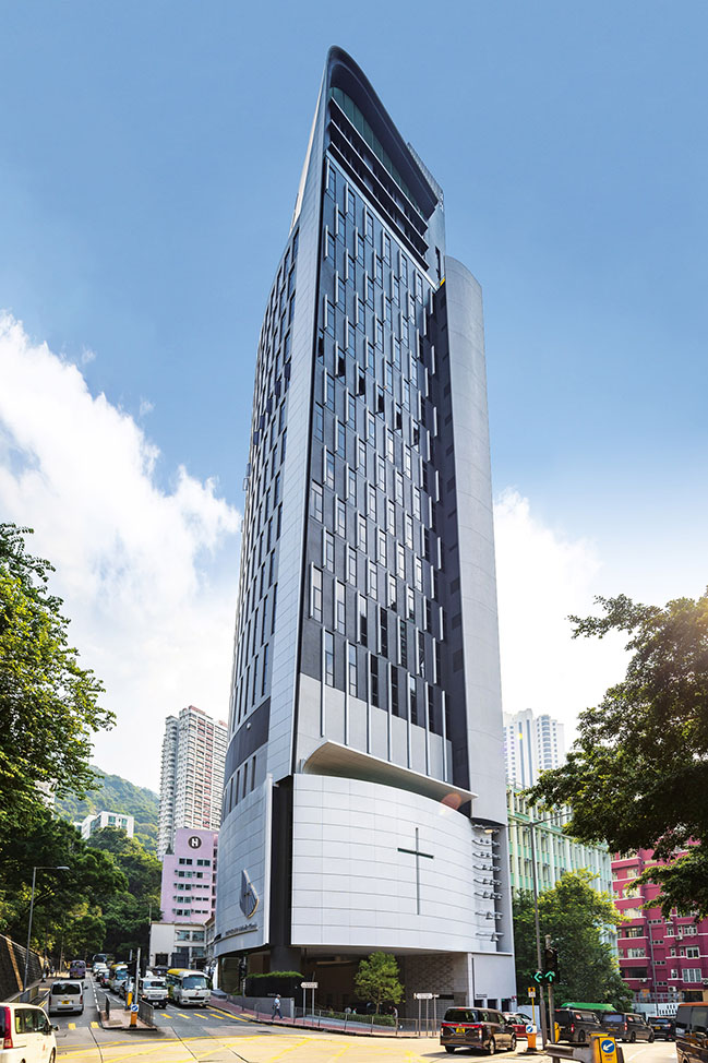 Hong Kong Skyscraper Church by Rocco Design Architects