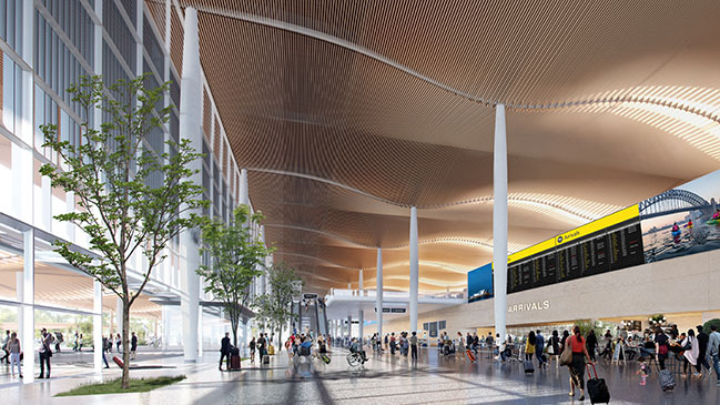 Zaha Hadid Architects and Cox Architecture win the Western Sydney Airport competition