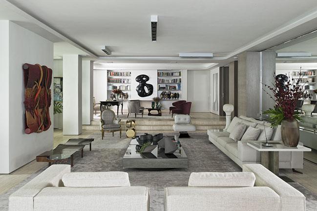 Artur Ramos Apartment by Diego Revollo Arquitetura