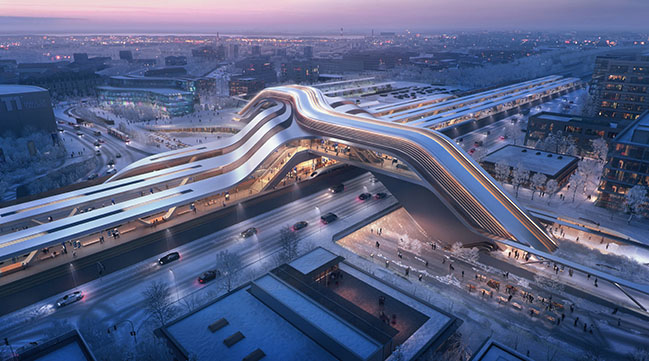 ZHA and Esplan win Ülemiste terminal competition