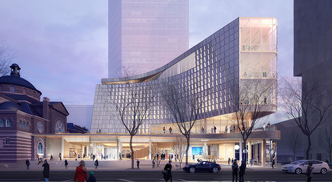 Snøhetta and Clark Nexsen reveal design for Charlotte's new Main Library