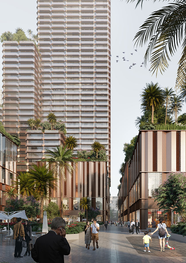 Konka mixed-use by Mecanoo