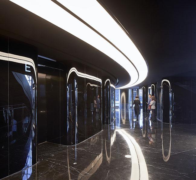 Leeza SOHO by Zaha Hadid Architects opens with the world's tallest atrium
