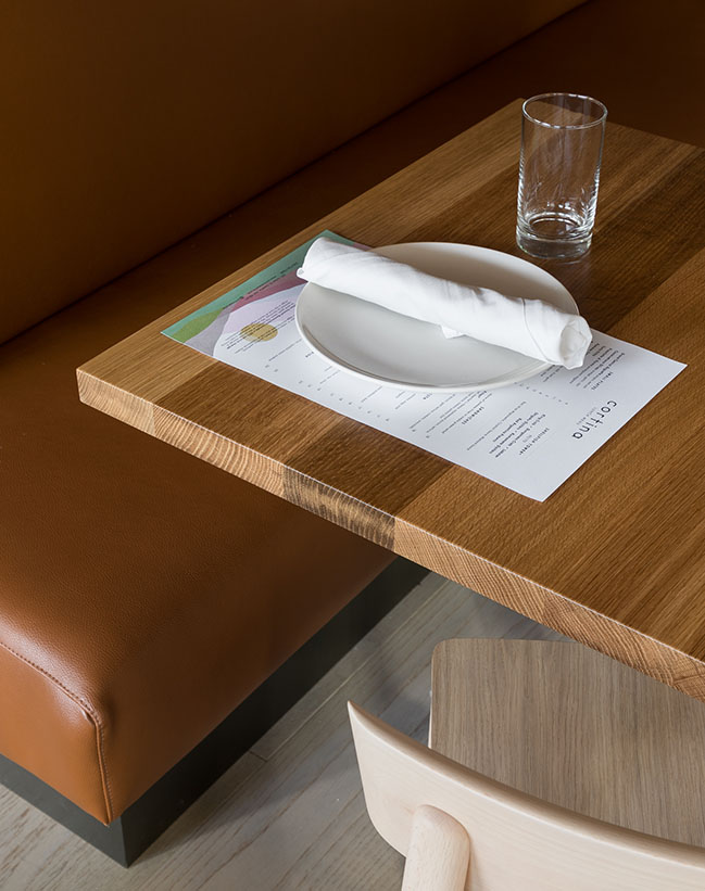 Cortina - Modern Italian restaurant in downtown Seattle by Heliotrope Architects