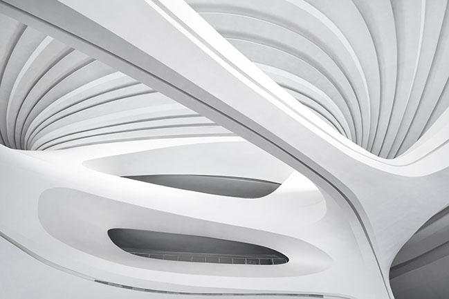 Changsha Meixihu International Culture and Arts Centre by Zaha Hadid Architects