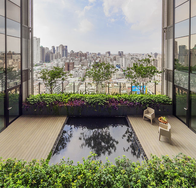 Sky Green in Taichung by WOHA
