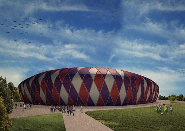 The new stadium of Fiorentina Football Club by Pierattelli Architetture