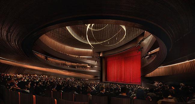 Xingtai Grand Theater in China by Snøhetta