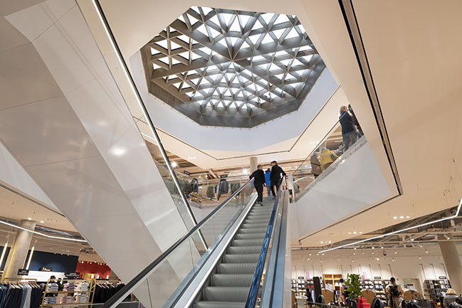 Galeries Lafayette store in the heart of Luxembourg by Foster + Partners