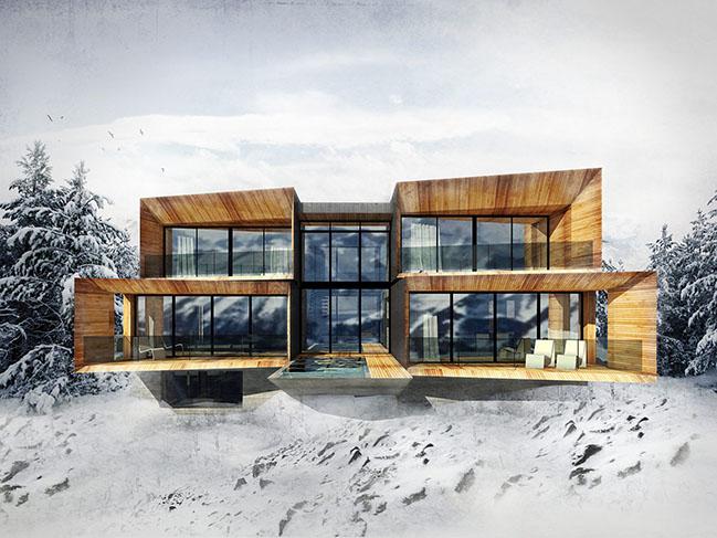 The Kinii - The Ski-Lodge at Powder Mountain by OBICUA