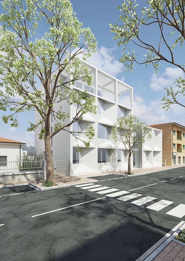 Frame: residential complex on the Italian coast by Pierattelli Architetture