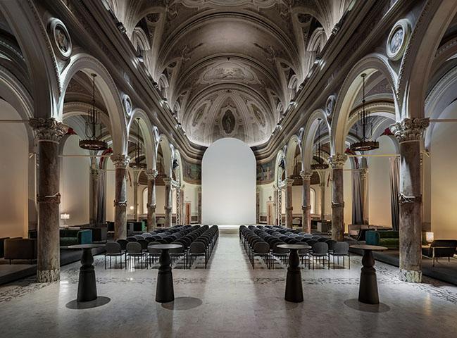 906 World Cultural Center by balbek bureau