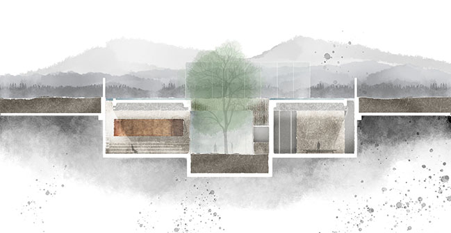 Reading under the Lake by Waterfrom Design