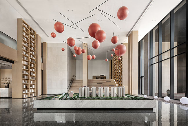 Shenyang China Overseas - Wang Jing Mansion Sales Center by ONE-CU Interior Design Lab