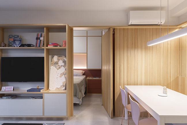 Apartment Ortho by Fábrica Arquitetos