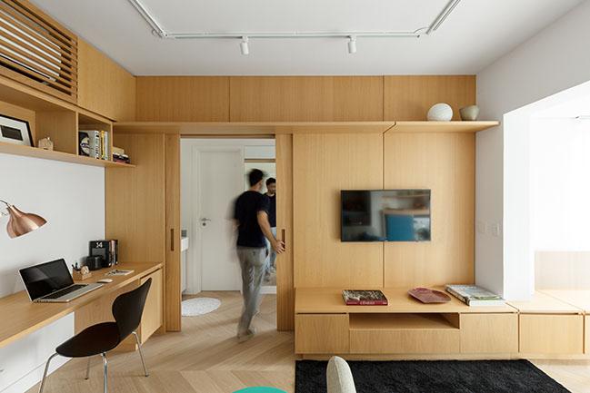 Three Apartment by Fábrica Arquitetos