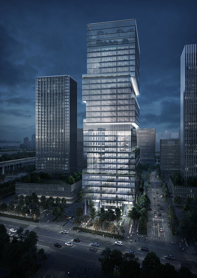 BaoAn Bay Industrial Investment Tower by Jaeger Kahlen Partners
