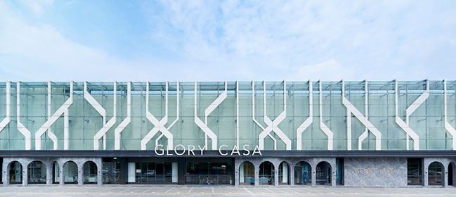 Glory Casa showrooms in China by Vudafieri-Saverino Partners