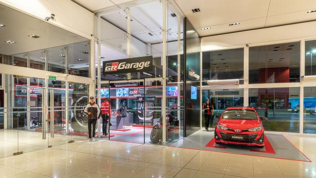 GR Garage Toyota Gazoo Racing by eeg arquitectos