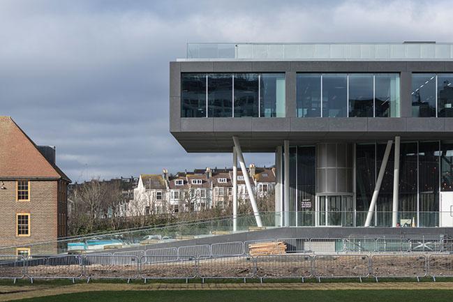 Brighton College School of Science and Sport by OMA / Ellen van Loon