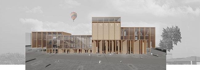 A Temporary Home for the Frankfurt Opera
