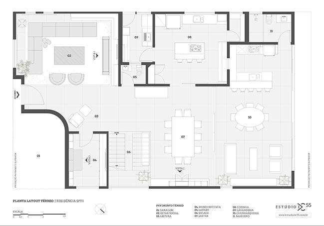 SP111 House by Estúdio DC55