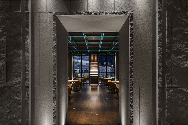 IYO Aalto: Japanese Gourmet Restaurant in Milan by Maurizio Lai Architects