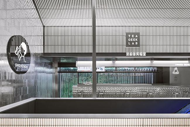 HEYTEA LAB (Shenzhen OCT Harbor Store) by TOMO DESIGN