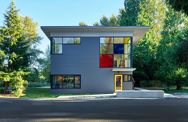 Whole Earth Montessori School Building by Paul Michael Davis Architects