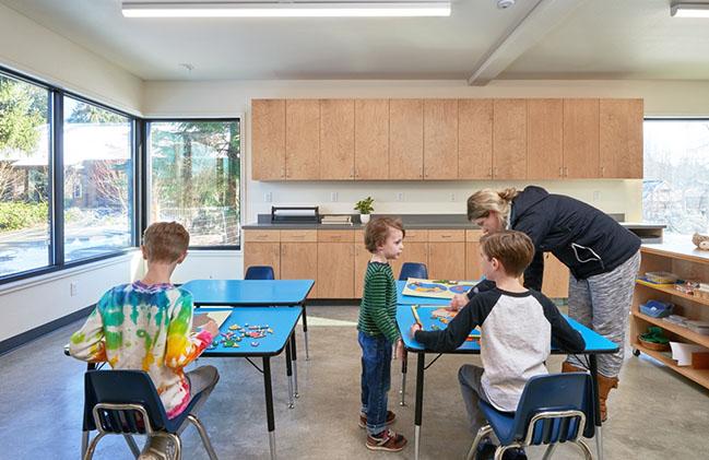 Whole Earth Montessori School Building by Paul Michael Davis Architects