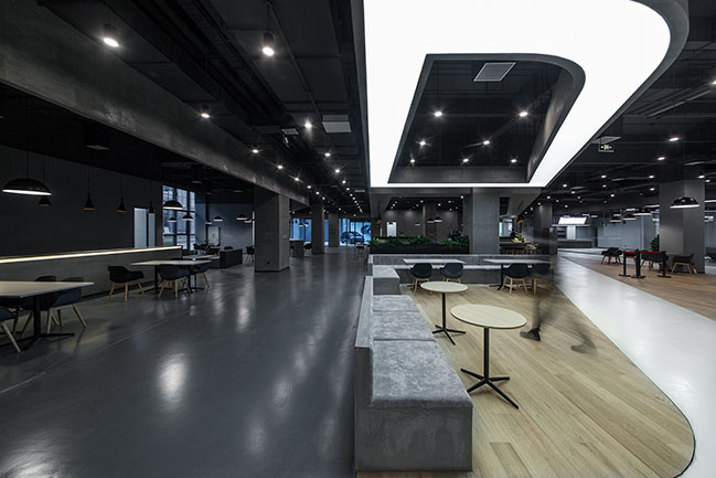 Byton Production Base - A Workspace defines lifestyle Office by inDeco