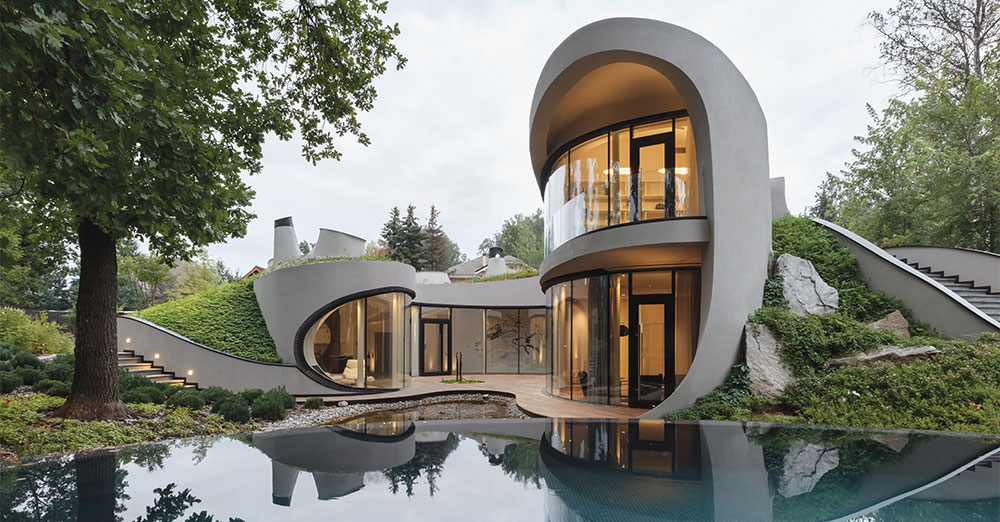House In The Landscape By Niko Architect