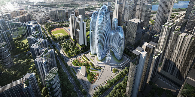 New OPPO Headquaters in Shenzhen by Zaha Hadid Architects