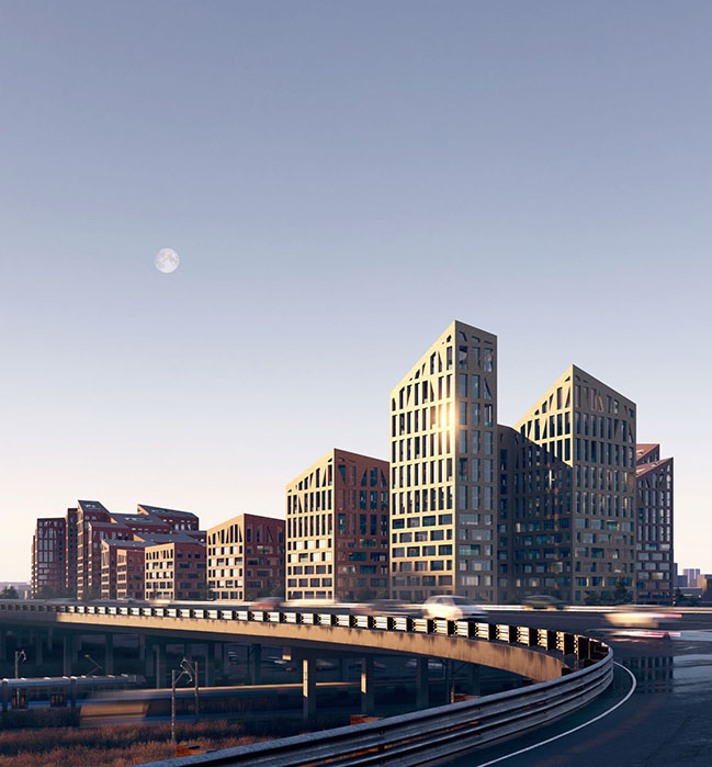 ODA wins International Competition to design MAZD Territory in Moscow