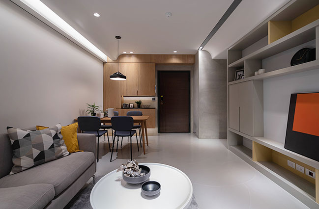 Single lady Apartment by Awork.Design Studio
