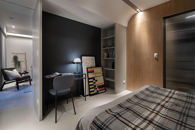 Single lady Apartment by Awork.Design Studio