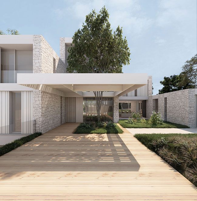 House in El Vedat by Ramón Esteve Estudio