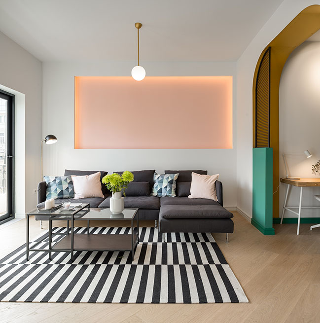 The luscius Apartment by Urban Soul Project