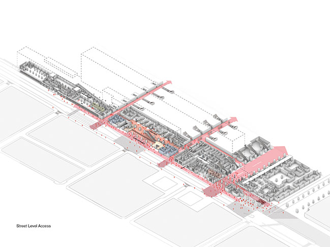 OMA / Reinier de Graaf Wins Competition for the New Headquarters of SNCB NMBS